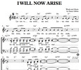Thumbnail I will now arise - Hanjo Gäbler Sheet Music